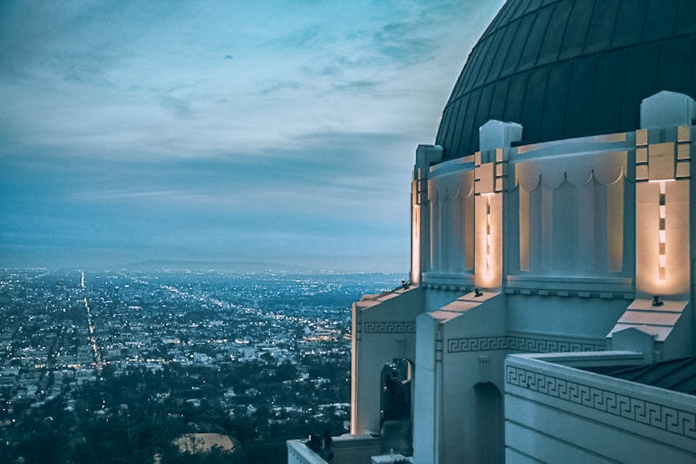 Griffith observatory, photo by Mona Corona