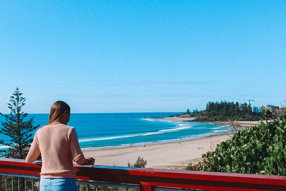 Kirra Lookout overlooking Snapper Rocks, photo by A Travellers Footsteps