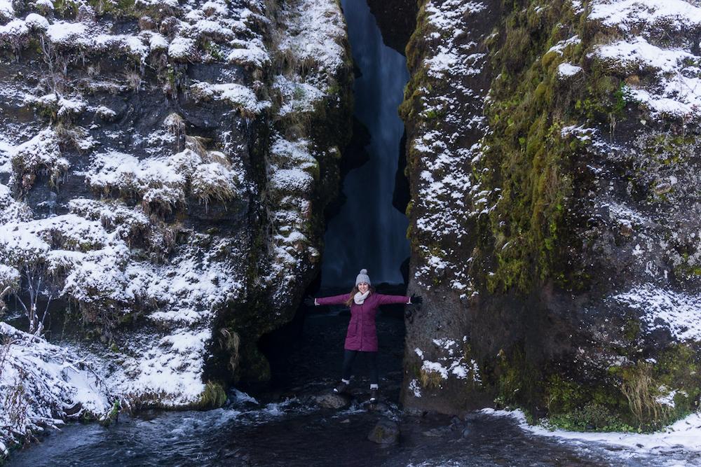 Gljúfurárfoss, photo by Migrating Miss