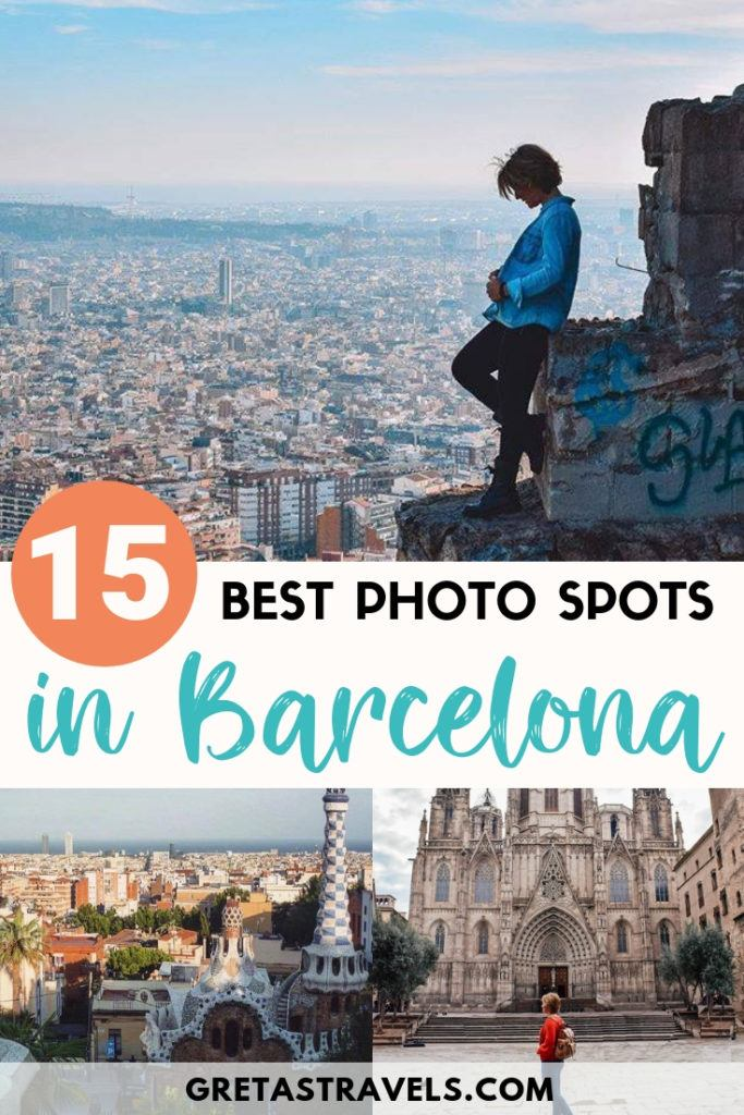 Planning a trip to Barcelona and want to make sure you capture all the most photogenic and Instagrammable locations? This is the Barcelona Instagram photo guide is what you need! Discover all the best Instagram photo spots in Barcelona (with exact location)! #barcelona #spain #bestphotospotsinbarcelona #instagram