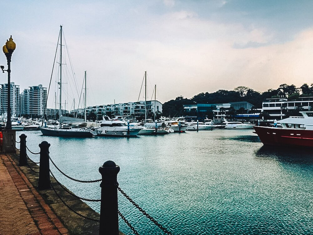 Sentosa Cove, photo by The Munching Traveller