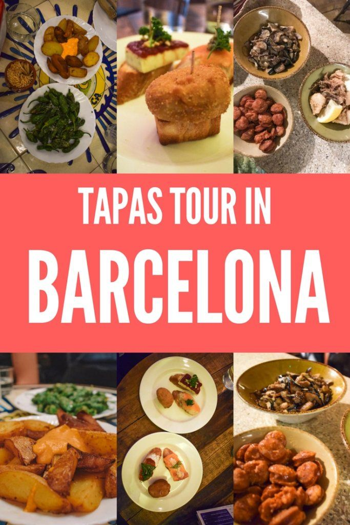 Tapas are a big part of Spanish culture, if you want to make sure you visit all the best tapas bars in Barcelona, this is the guide for you! We did a tapas tour that took us to some of the best and local tapas bars in Barcelona, read to find out more! #tapas #barcelona #spain #food #tapastourinbarcelona