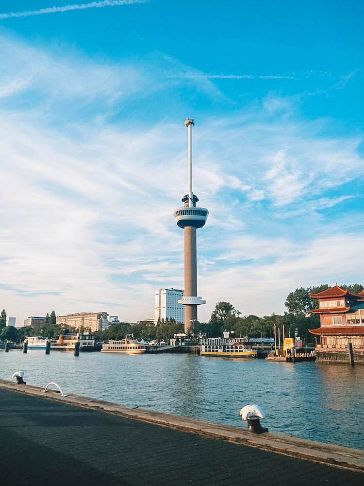 Euromast Viewpoint Tower, photo by Together in Transit
