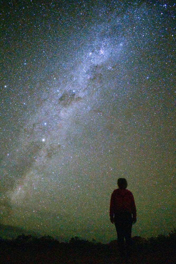 The Milky Way seen from the Australian outback