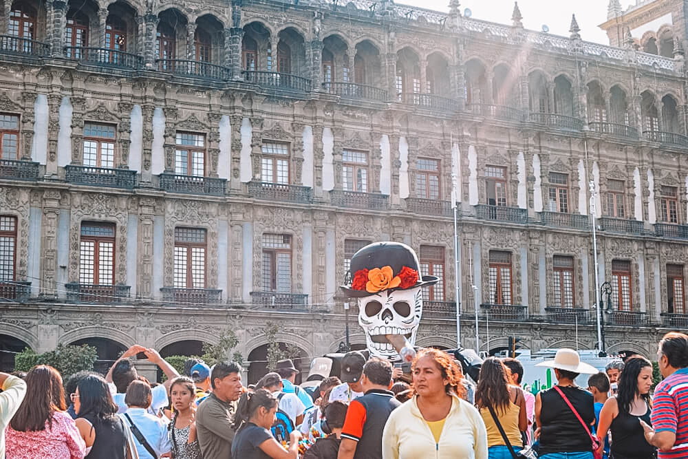 Day of the dead in Mexico City, photo by Eternal Expat