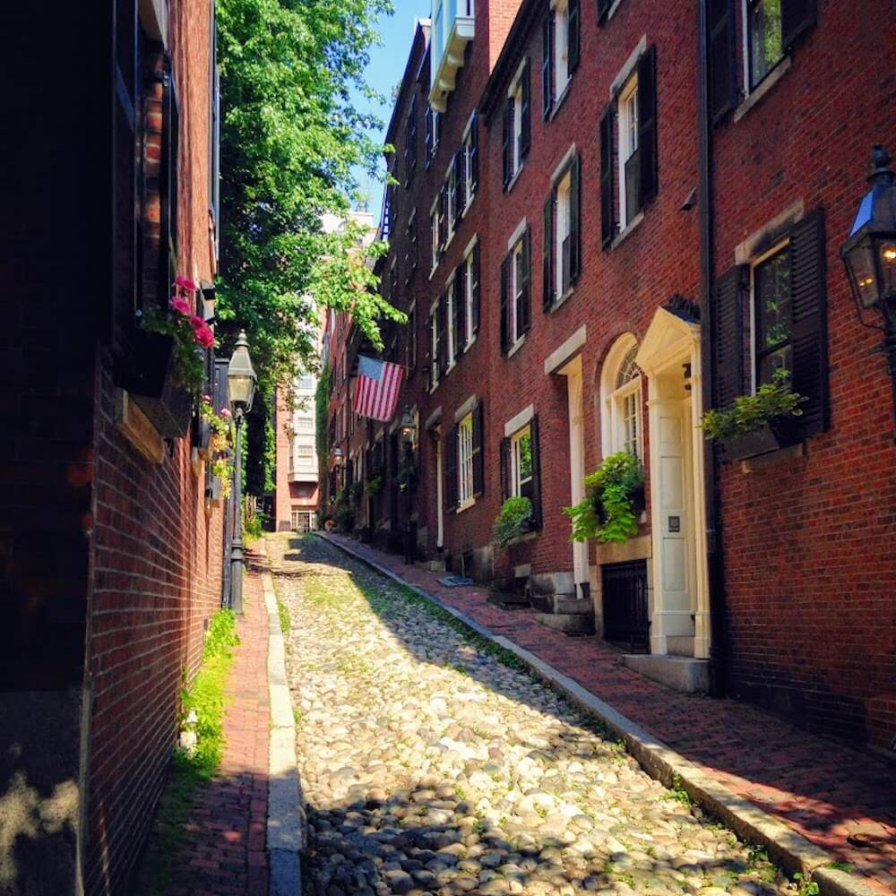 Acorn Street, photo by Picnic Wednesday