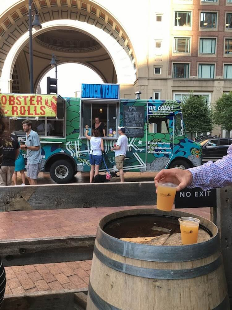Breweries and food trucks, photo by Picnic Wednesday