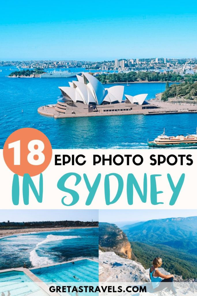 Sydney is one of the most beautiful and photogenic cities in Australia, check out this guide to find out all the most Instagrammable places in Sydney! If you want to snap all the best photos, this list of the most photogenic places in Sydney is the guide you're looking for. #sydney #australia #instagram #bestinstagramphotospots #photoopp #instagrammableplaces