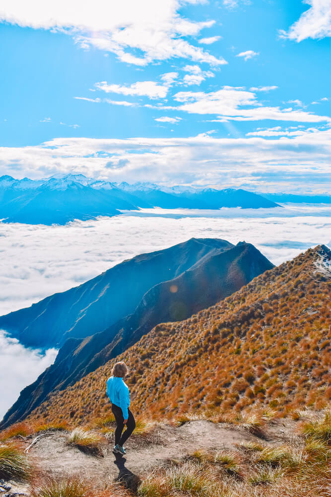 View from the top of Roy's Peak, New Zealand