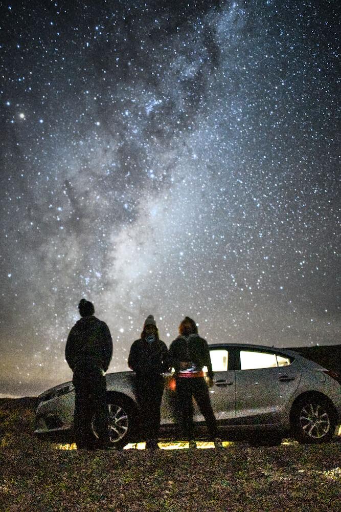 The Milky Way seen from Lake Tekapo, New Zealand, world famous stargazing spot