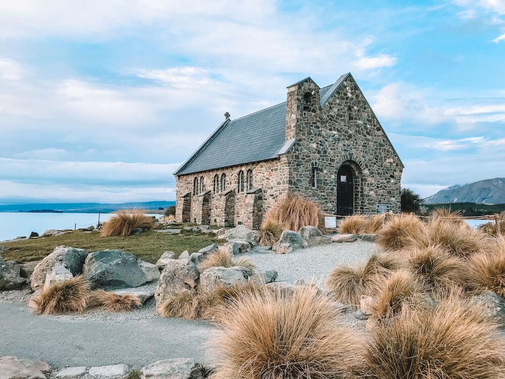 The Church of the Good Shepherd in Lake Tekapo, New Zealand