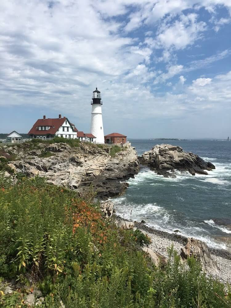 Portland Head Light, photo by Picnic Wednesday