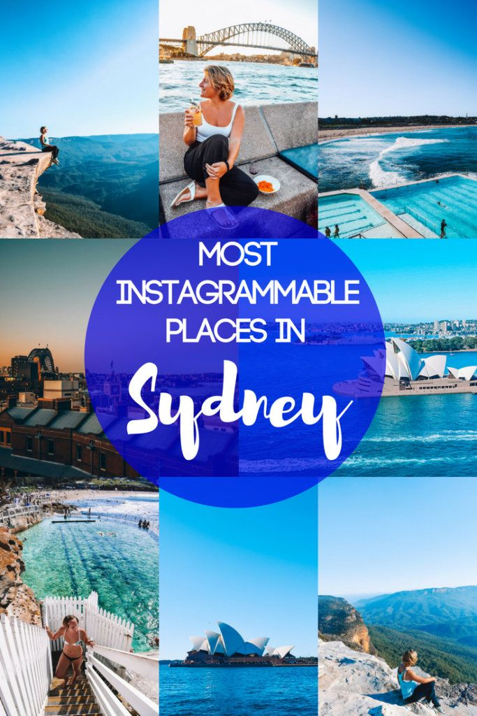 Sydney is one of the most beautiful and photogenic cities in Australia, check out this guide to find out all the most Instagrammable places in Sydney! If you want to snap all the best photos to make your friends back home jealous, this list of the most photogenic places in Sydney is the guide you're looking for. #sydney #australia #instagram #bestinstagramphotospots #photoopp #instagrammableplaces