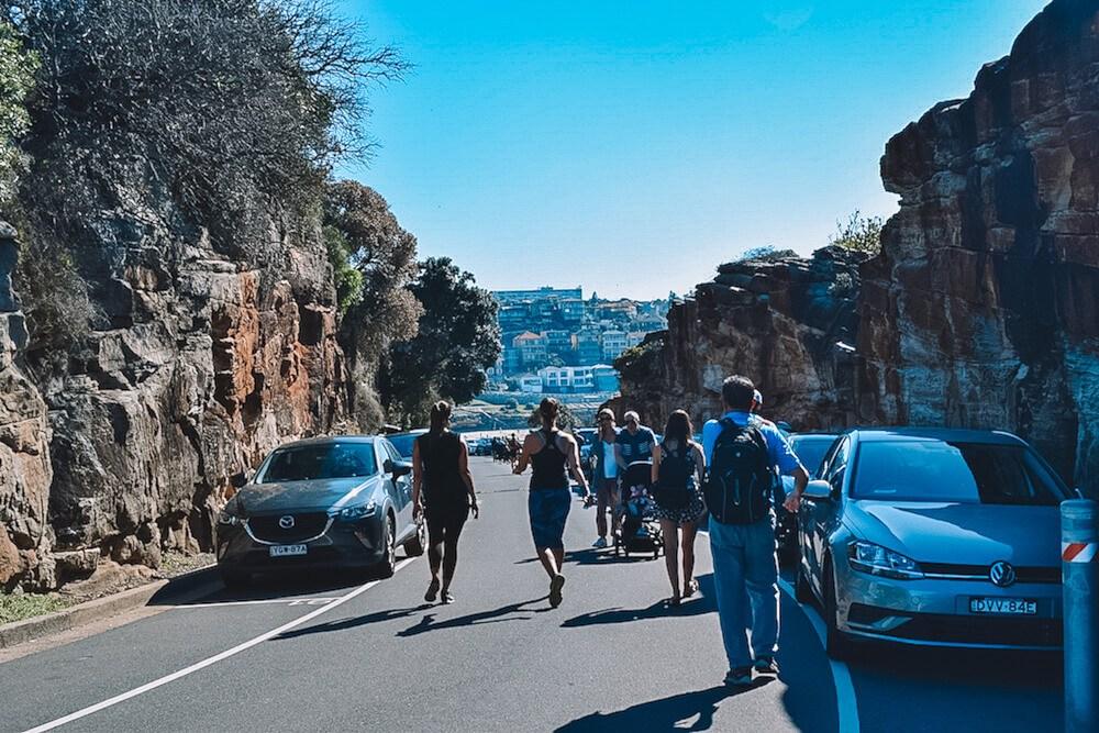 Somewhere along the Bondi - Coogee coastal walk in Sydney, Australia
