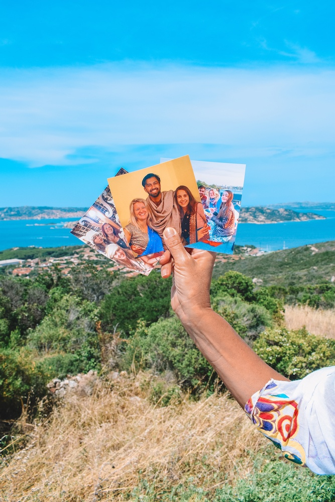 My travel memories printed as square photos by Mixbook