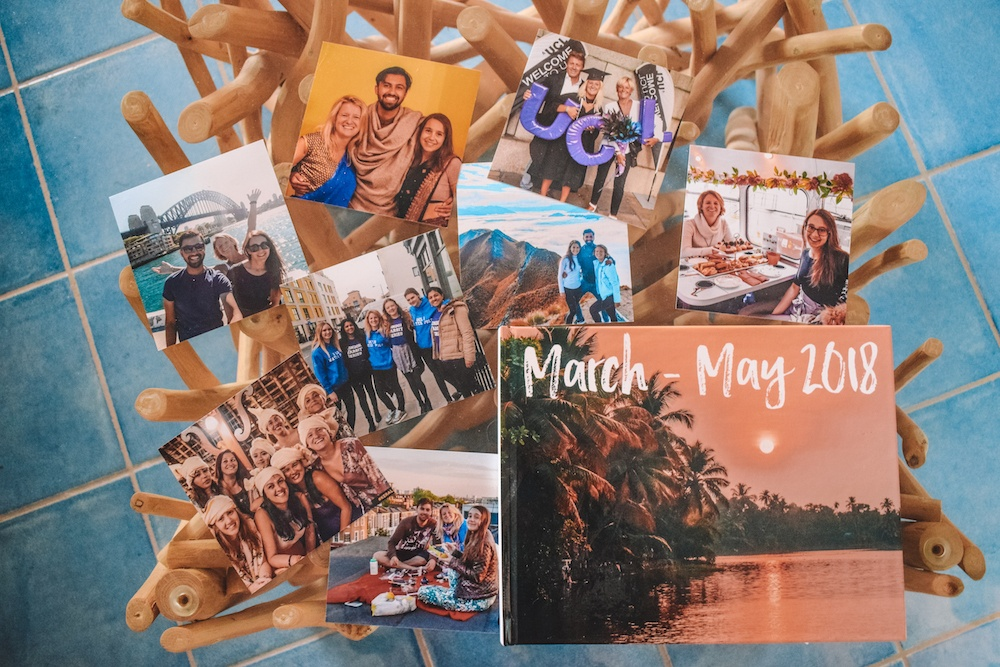 My travel memories printed by Mixbook