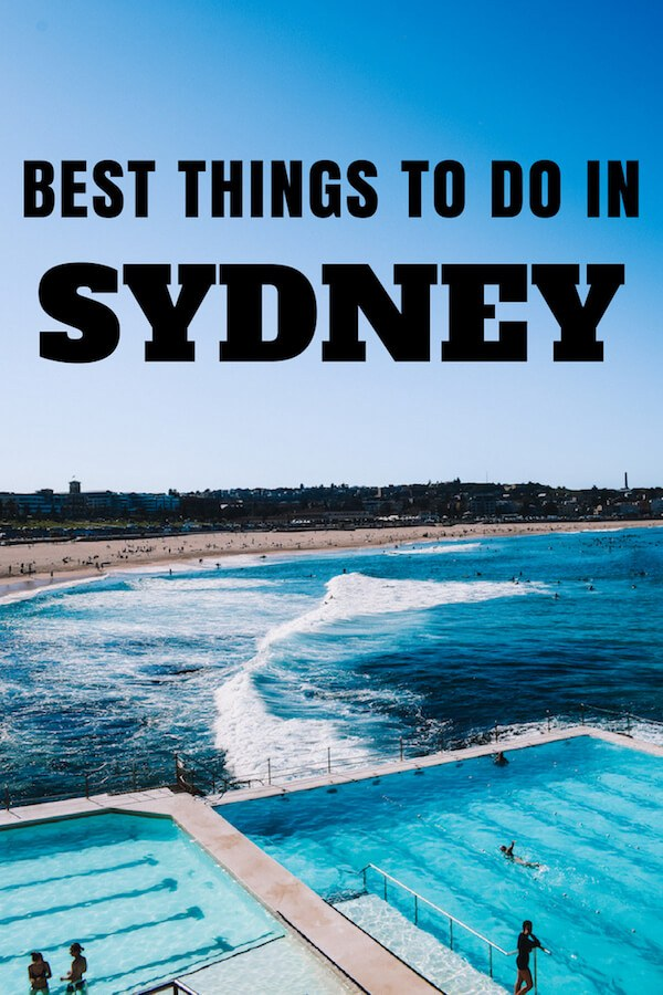Sydney is one of the most popular and visited cities in Australia. Discover all the best things to do in Sydney in 3 days with this Sydney 3-day itinerary. #sydney #australia #travelblog #travel #bestofsydney #travelitinerary
