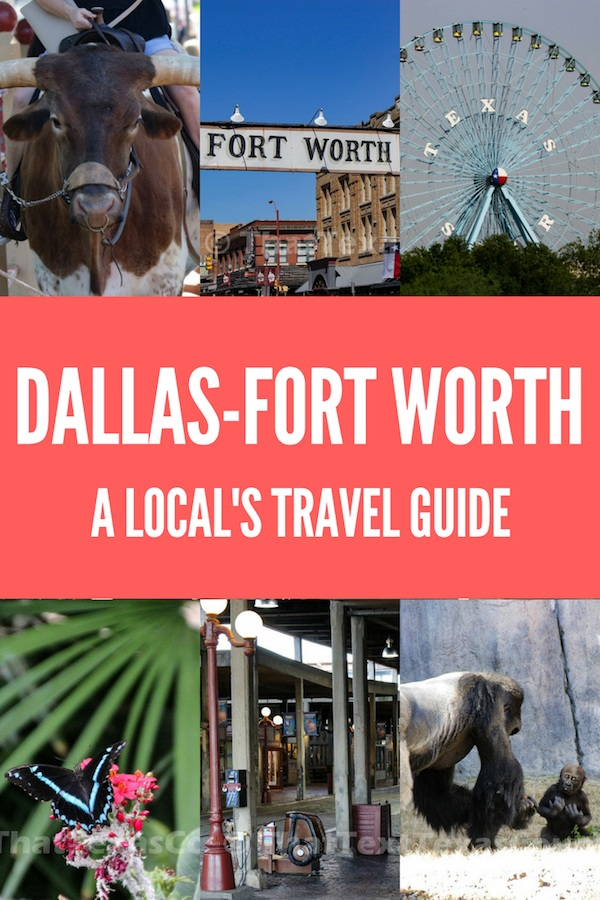 Planning a trip to Texas? Check out this local's travel guide to Dallas-Fort Worth. Find out all the best things to do, where to eat, where to stay and off the beaten track locations you have to see. #texas #usa #unitedstatesofamerica #dallas #fortworth #travelguide