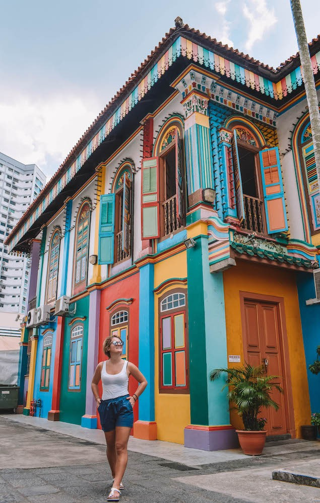 Tan Teng Niah's colourful house in Little India, Singapore