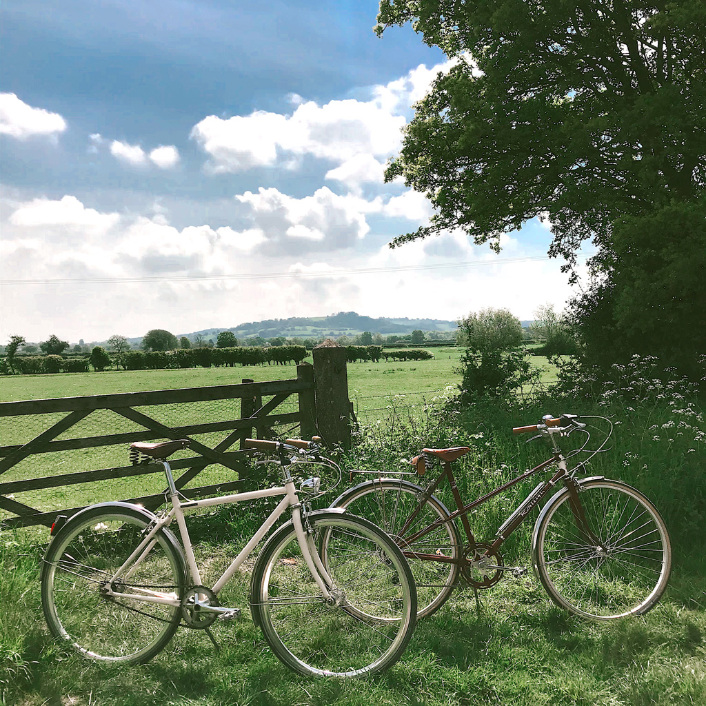Cycling in Stratford Upon Avon - photo by Call Me Liz