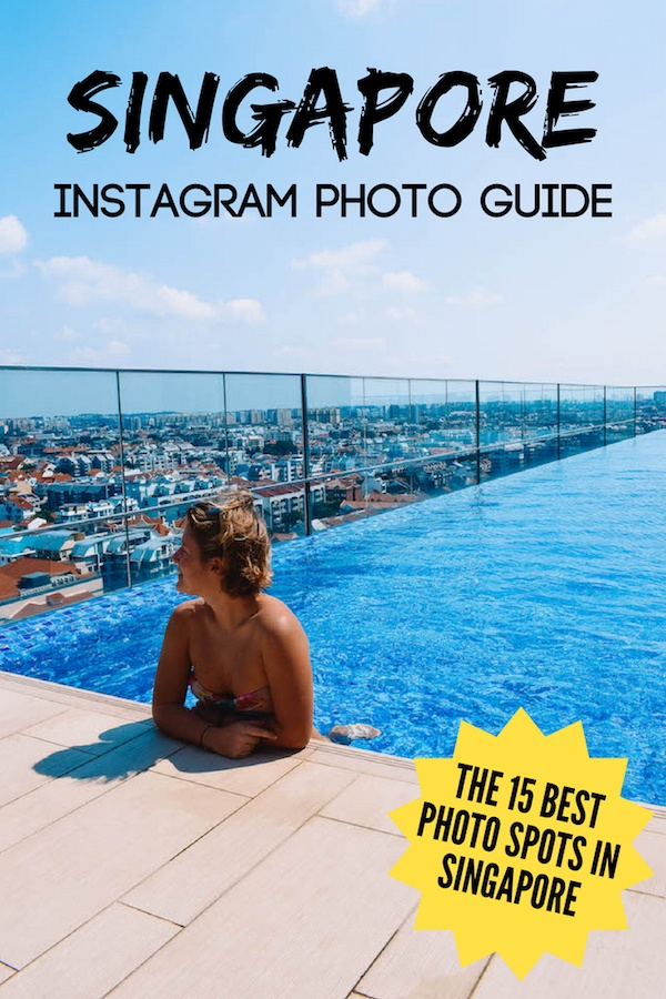 Want to make sure you take photos of all the most Instagrammable places in Singapore so you can make your friends jealous on social media? This list of all the most Instagram worthy places in Singapore covers them all! #singapore #instagram #photospots #cloudforest #marinabaysands #gardensbythebay