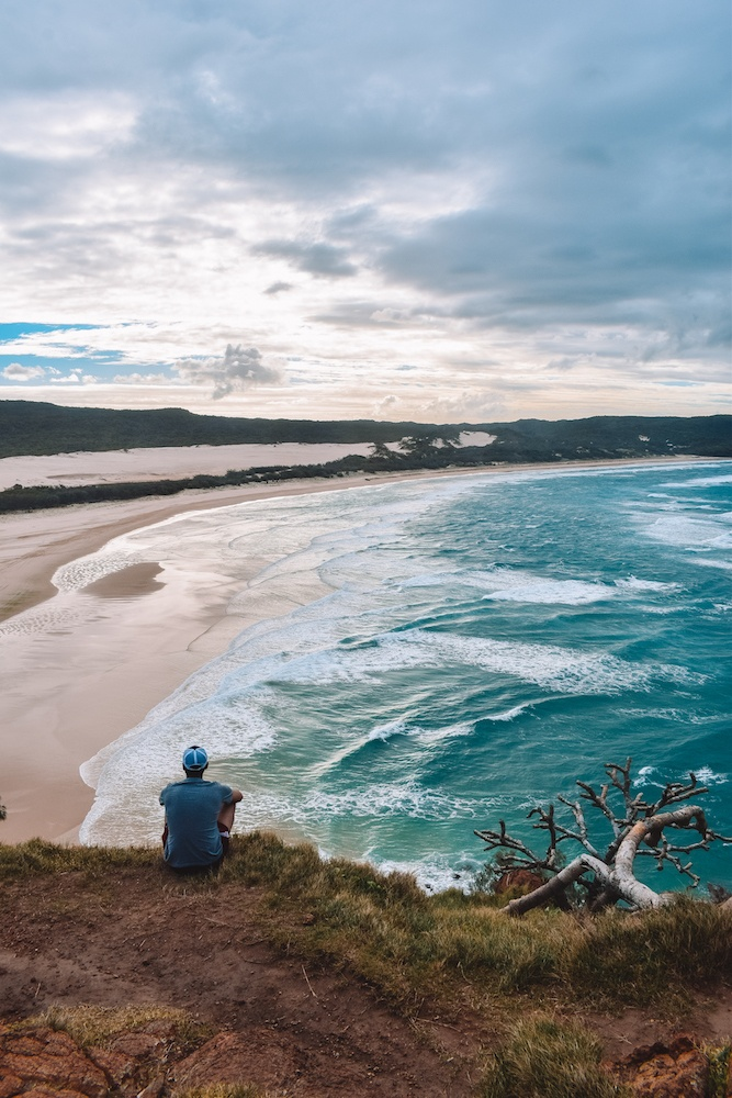The view from Indian Heads on Fraser Island, Australia
