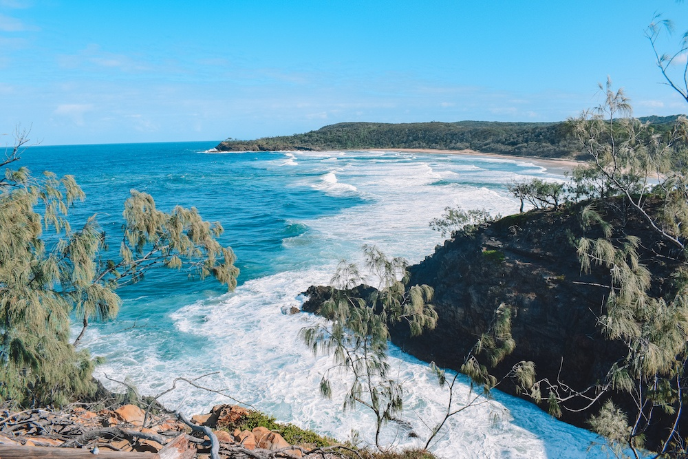 Hell's Gate Lookout Point in Noosa National Park, Australia