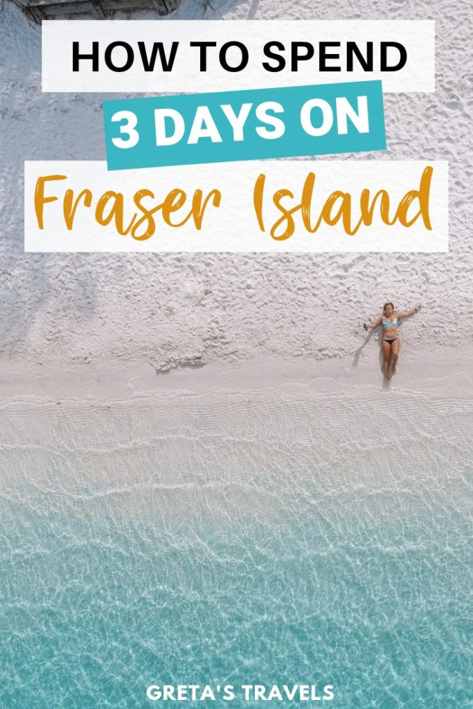 Fraser Island is a beautiful and wild island off the coast of Australia, and a popular travel destination. Discover the best things to do on Fraser Island with this complete Fraser Island 3-day tour and travel guide. #fraserisland #australia #dingos #champagnepools #4wd #travelguide #3dayitinerary #traveltips #australiatraveltips