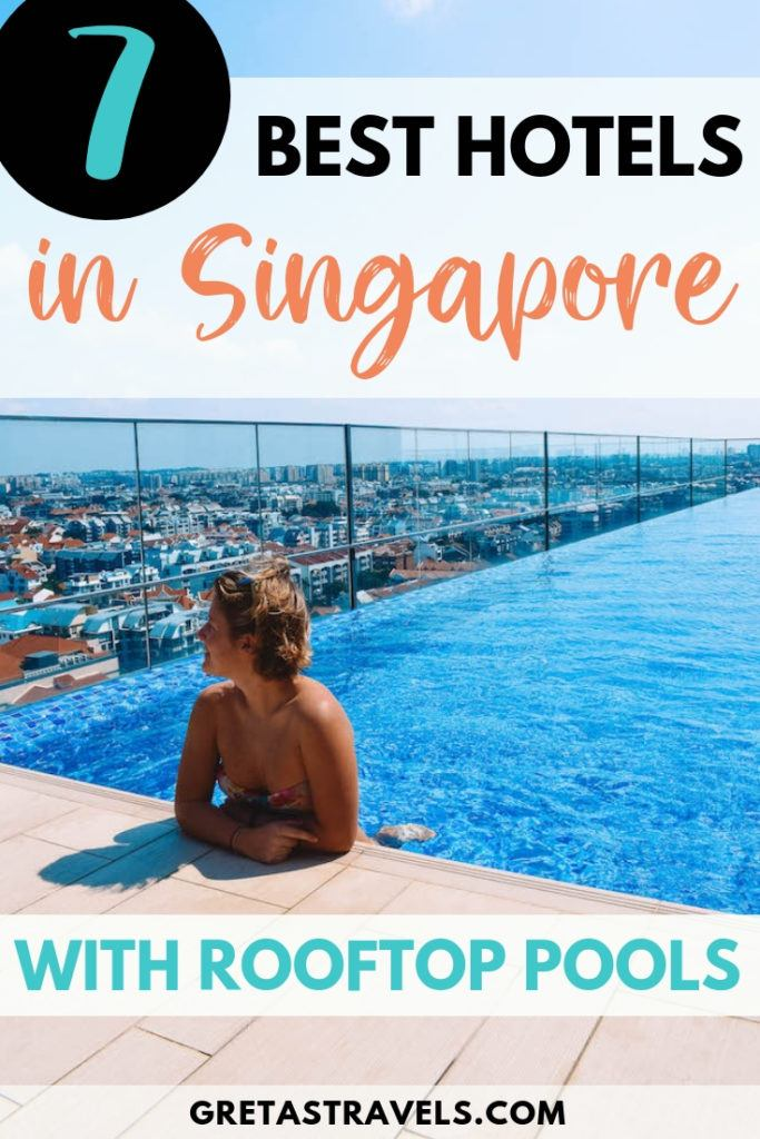 If you're planning a trip to Singapore and want to stay in a cool hotel with a beautiful rooftop swimming pool, without breaking the bank at Marina Bay Sands, this is the guide for you. I've put together a list of the best hotels in Singapore with rooftop swimming pools to help you select the best one for you. #singapore #asia #rooftoppool #hotel #marinabaysands #traveladvice #singaporetraveltips