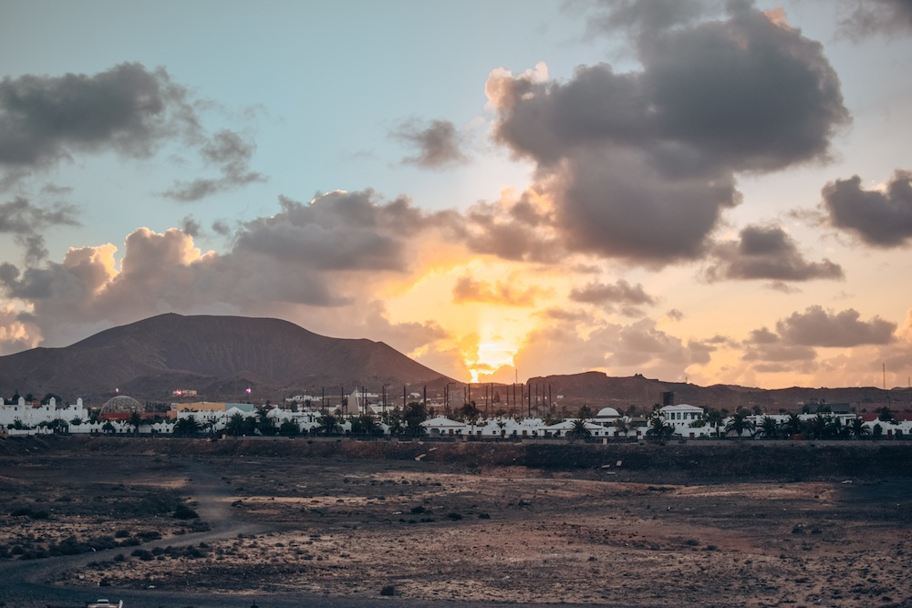 Sunset in Corralejo, Fuerteventura