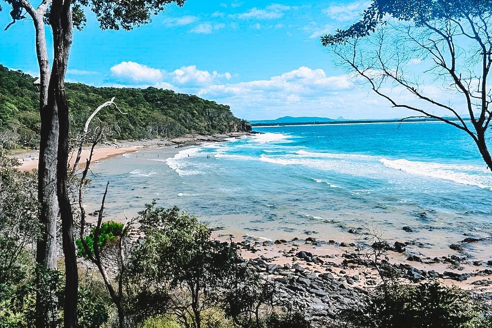 Tea Tree Bay, on the Coastal Walk from Noosa Heads to the fairy pools