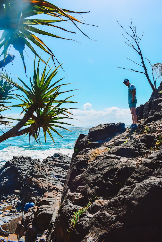 Off the Coastal Track and searching for the fairy pools of Noosa Heads