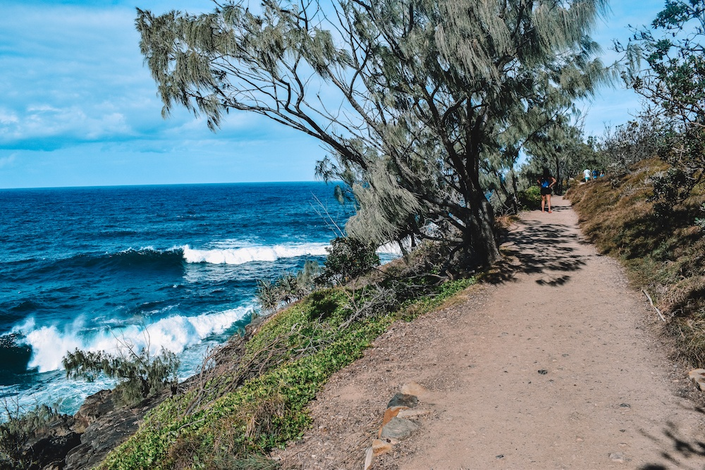 The Coastal Walk in Noosa National Park, Australia
