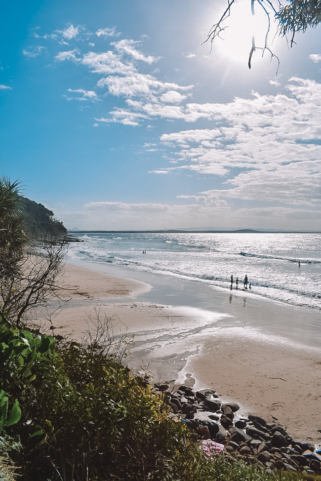 One of the beaches in Noosa National Park, Australia