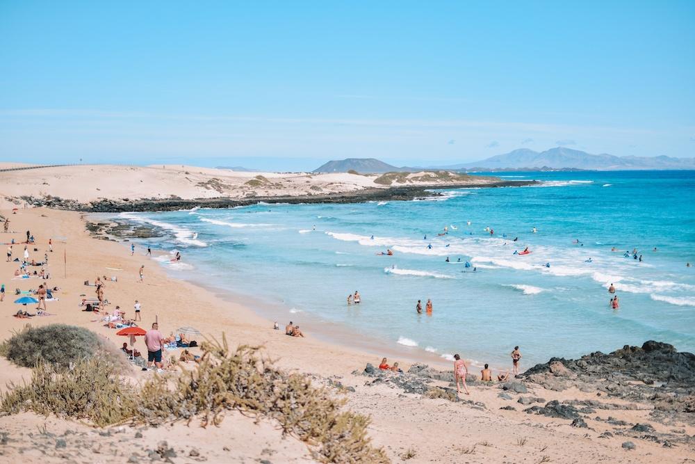 Playa del Moro in Fuerteventura