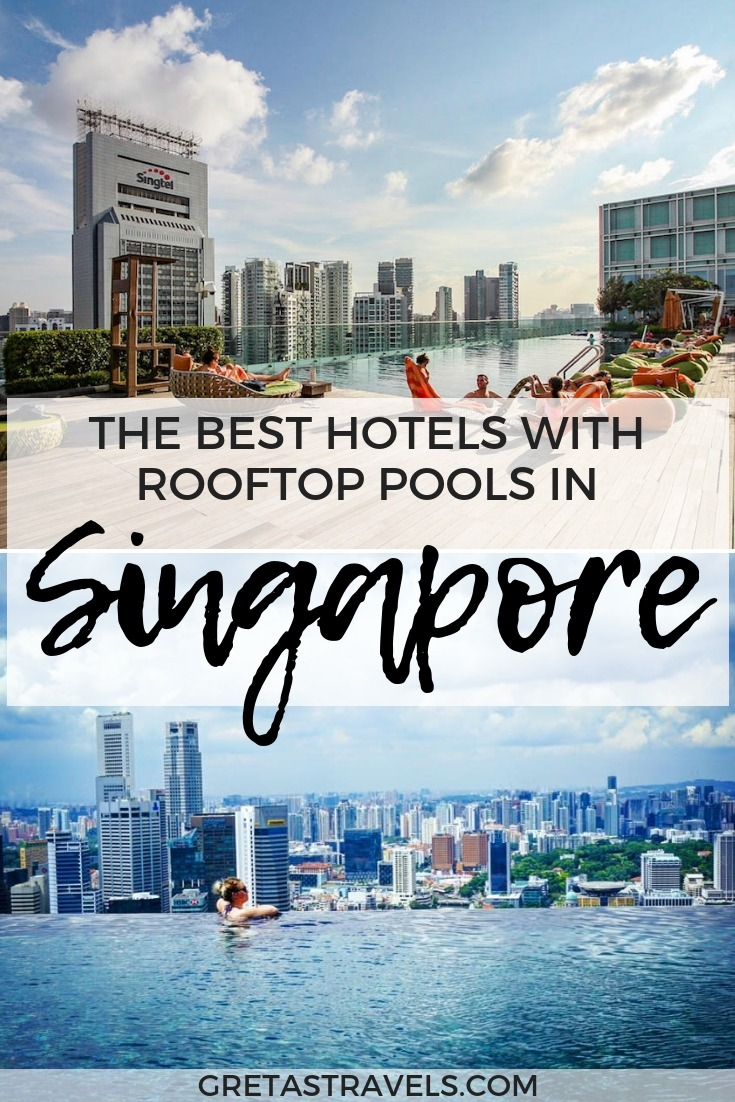 If you're planning a trip to Singapore and want to stay in a cool hotel with a beautiful rooftop swimming pool, without breaking the bank at Marina Bay Sands, this is the guide for you. I've put together a list of the best hotels in Singapore with rooftop swimming pools to help you select the best one for you. #singapore #asia #rooftoppool #hotel #marinabaysands