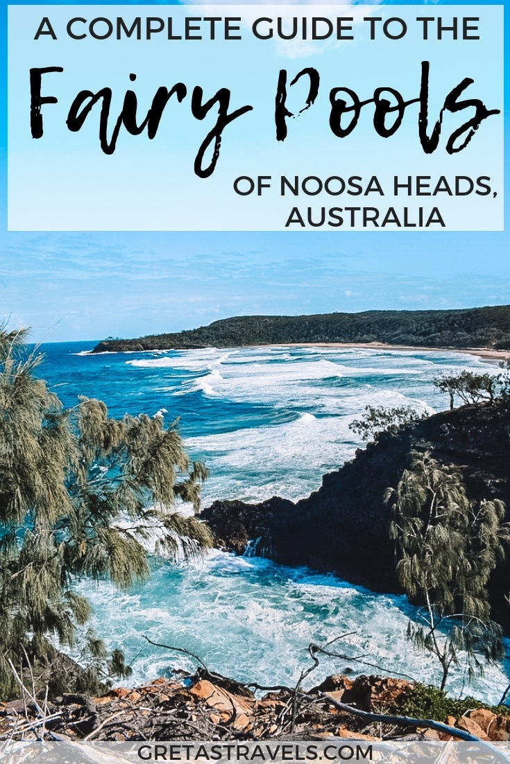Planning a trip to the fairy pools of Noosa Heads? Find out everything you need to know about the fairy pools of Noosa National Park including: how to find them, what to bring, the best time to visit and more! #noosaheads #noosanationalpark #australia #fairypools #rockpools #queensland #coastalwalk