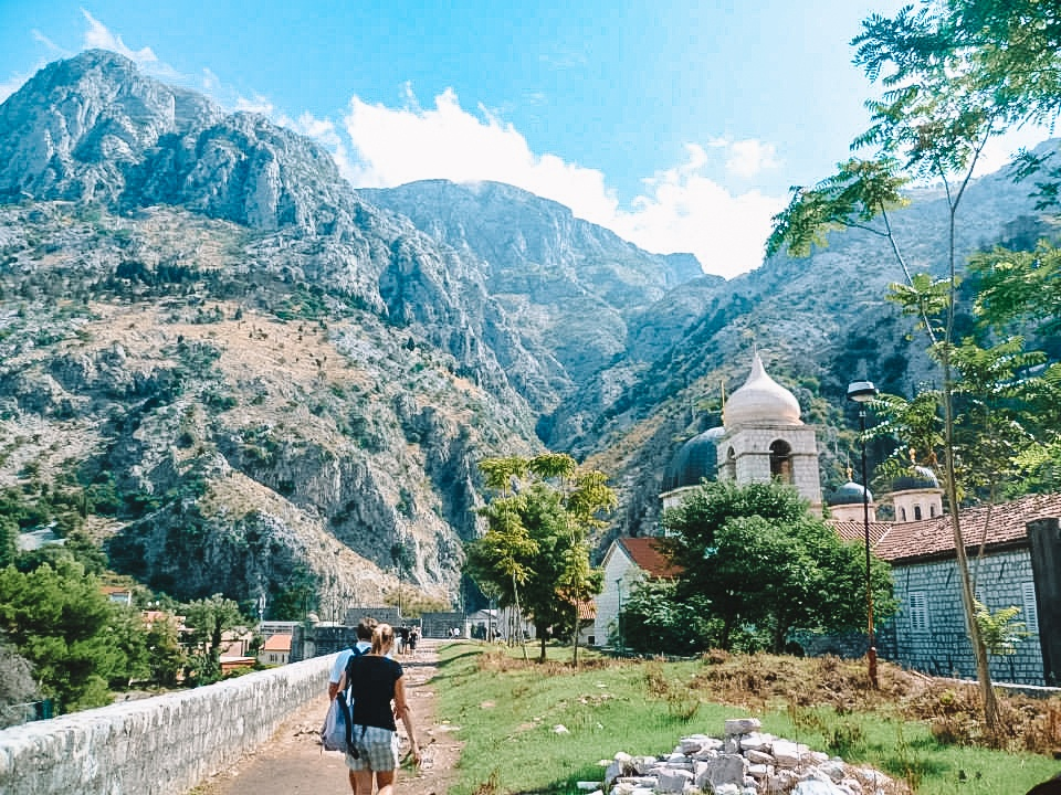 Just outside the Old Town of Kotor, Montenegro