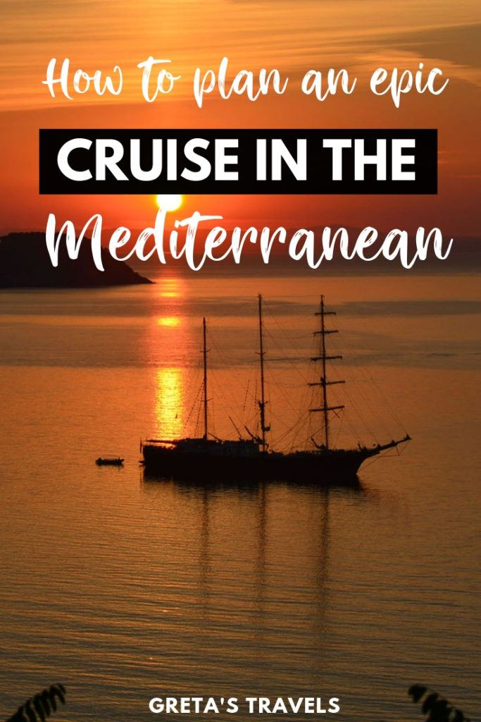 Planning a cruise in the Mediterranean but not sure what destinations to visit? Discover the 10 best cruise ports in the Mediterranean ranked by someone who has been on 10+ Mediterranean cruises! #mediterranean #cruise #medcruise #europe #traveladvice #traveltips #cruisetips