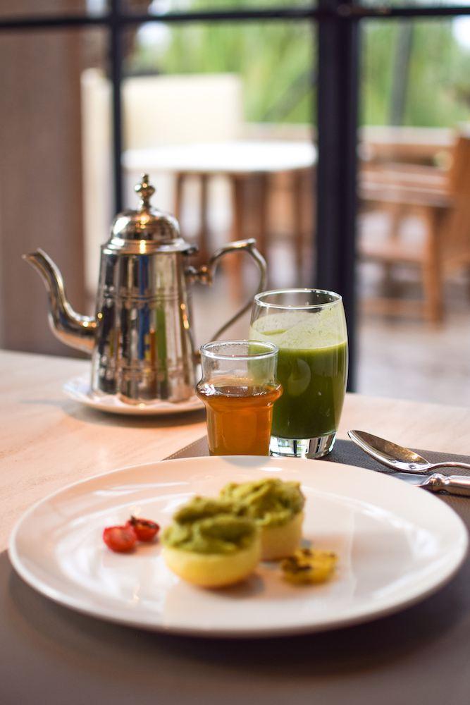 Breakfast at the Mandarin Oriental, Marrakech