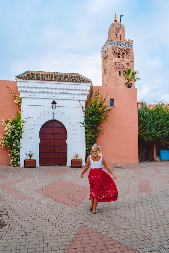 Exploring Marrakech in Morocco