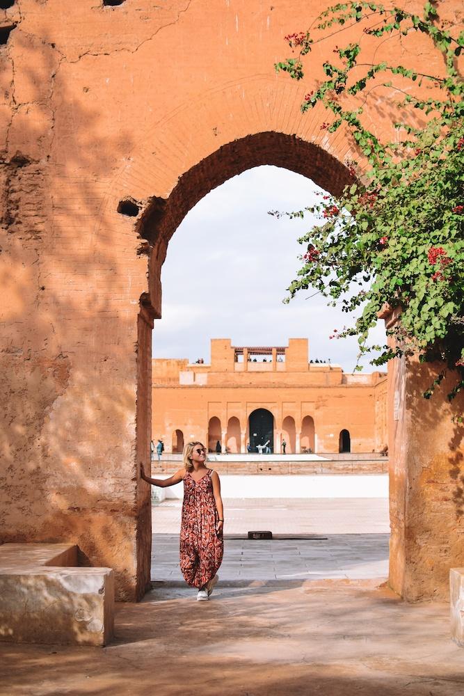 Exploring El Badi Palace in Marrakech, Morocco