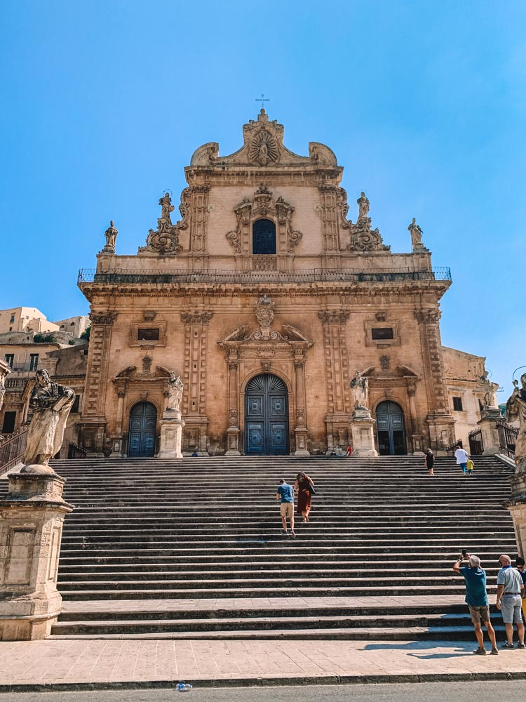 One of the beautiful churches in Modica