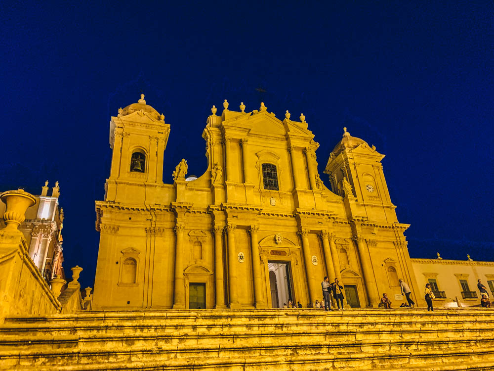 The main cathedral in Noto