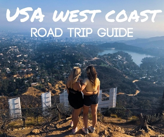 USA west coast road trip itinerary