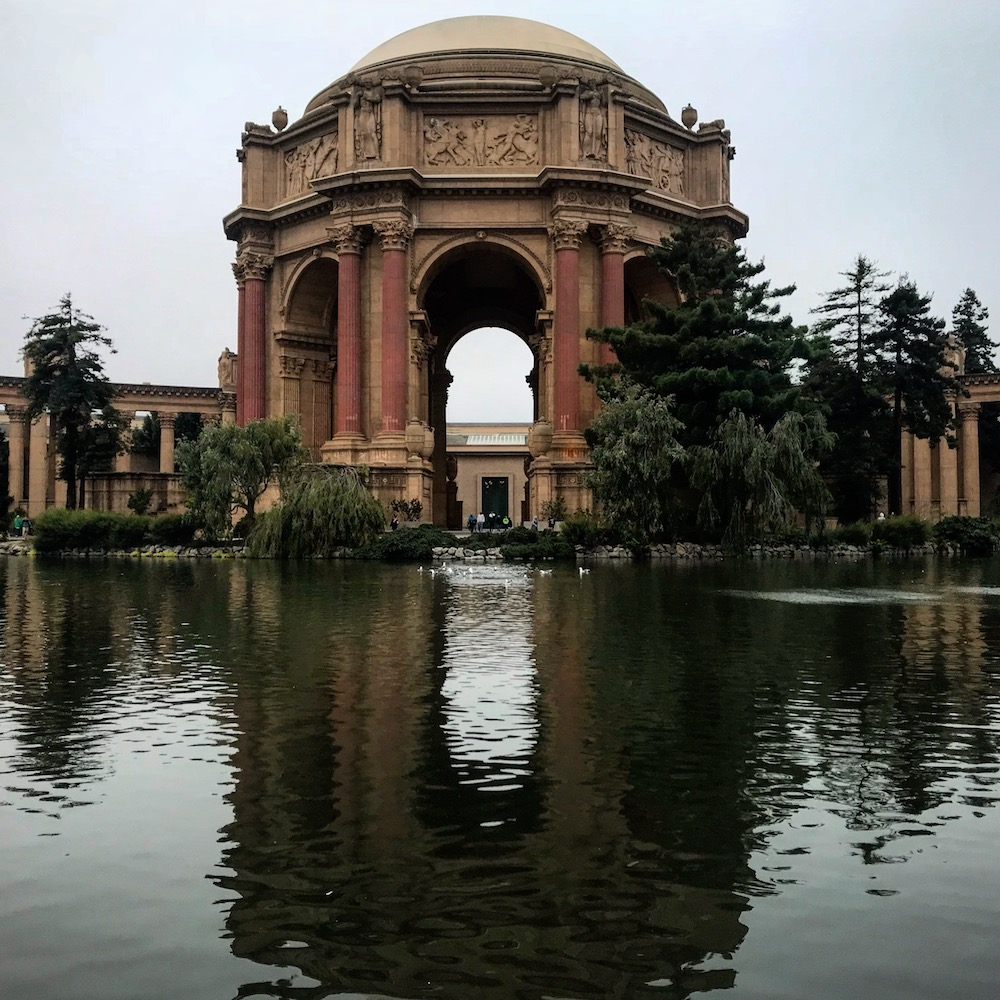 The Palace of Fine Arts in San Francisco - Photo by David Chaidez on Scopio