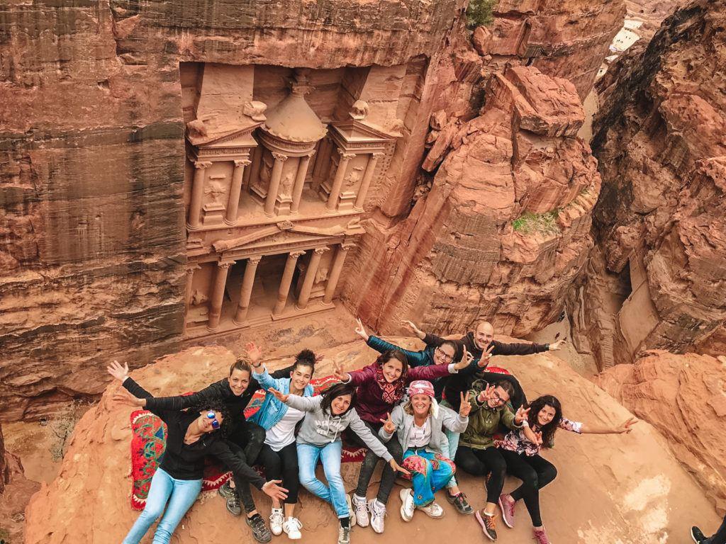 My group in Jordan