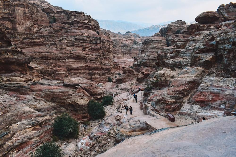 Canyon views in Petra, Jordan