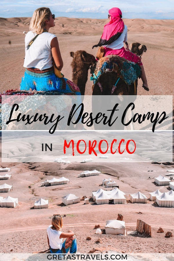 Planning a glamping experience in Morocco? Find out everything you need to know about staying at Scarabeo Camp; a luxury desert camp in the Agafay Desert, Morocco. #scarabeocamp #agafaydesert #desert #Morocco #africa #marrakech #luxury #glamping