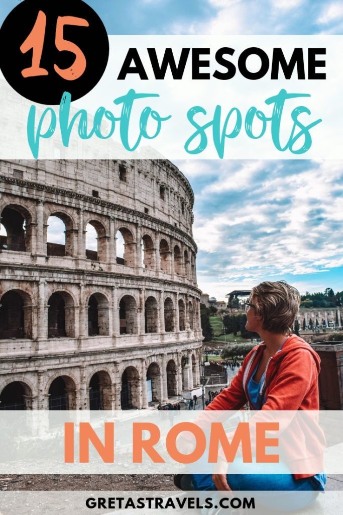 Rome is one of the most beautiful and photogenic cities in Italy. If you're looking for the most Instagrammable places in Rome, you've just found them! Check out these 15 most Instagram-worthy spots in Rome. #rome #italy #traveladvice #instagramadvice #traveltips #italyadvice #italytips #europe